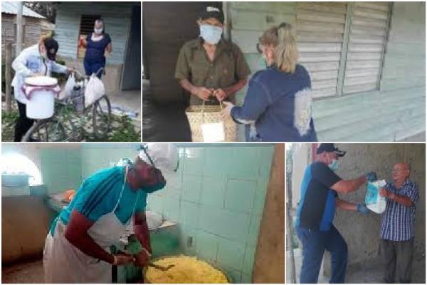 Sistema de Atención a la Familia en Camagüey garantiza comida a domicilio