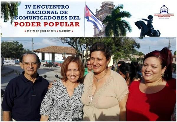 Sesiona en Camagüey Encuentro nacional de comunicadores sociales del Poder Popular