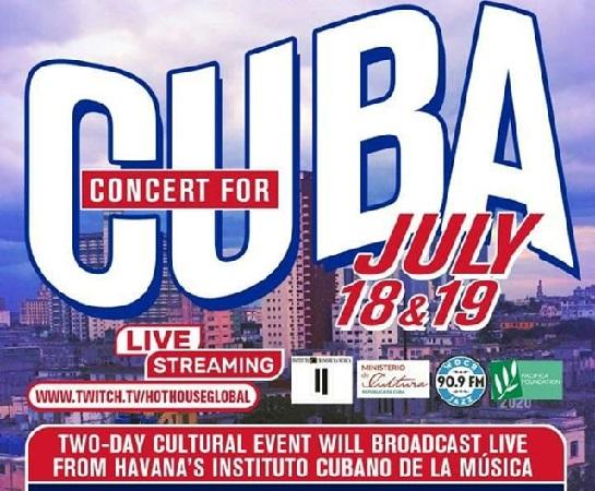 Músicos del mundo se unirán en Concierto para Cuba