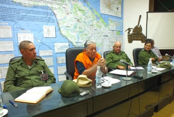 El General de División Ramón Pardo Guerra presidió el control integral a Camagüey.