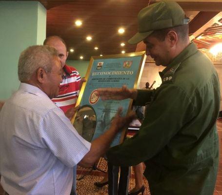 Combatientes de la Revolución ratifican en Camagüey compromiso con defensa de la Patria