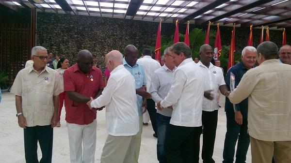 Machado Ventura presidió acto de condecoraciones de mayor organización de masas en Cuba (+ Fotos)