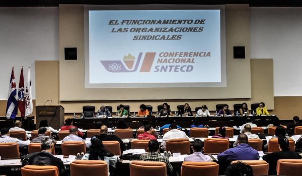 Cuba: Destacan en conferencia sindical el papel del maestro