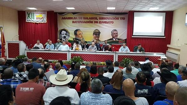 Preside Machado Ventura en Camagüey Asamblea Provincial XII Congreso de la ANAP
