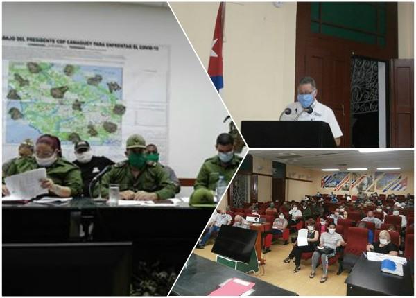 Consejo de Defensa Provincial en Camagüey chequea tareas de enfrentamiento a la Covid-19