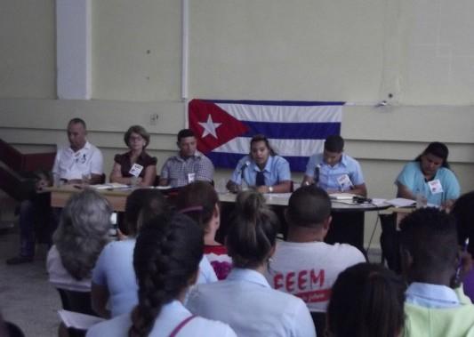 Estudiantes camagüeyanos de nivel medio pasan revista a su quehacer (+ Fotos)