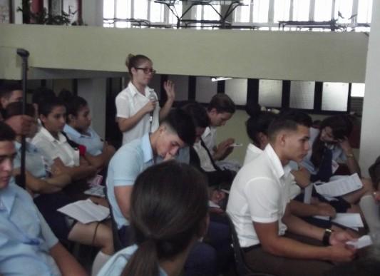 Estudiantes camagüeyanos de la Enseñanza Media analizarán temas medulares para su formación