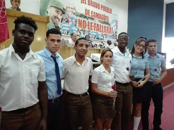 Estudiantes camagüeyanos asumen nuevas tareas a tono con su tiempo (+ Fotos)