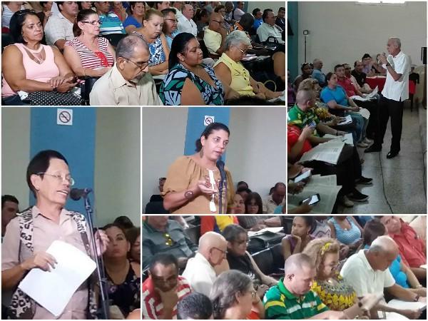 Abierta en Universidad de Camagüey consulta del Proyecto de Constitución (+ Fotos)