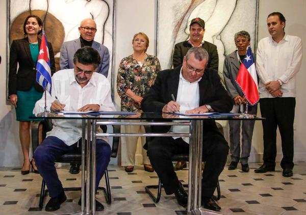 Acuerdan Cuba y Chile cooperación para preservar el patrimonio audiovisual