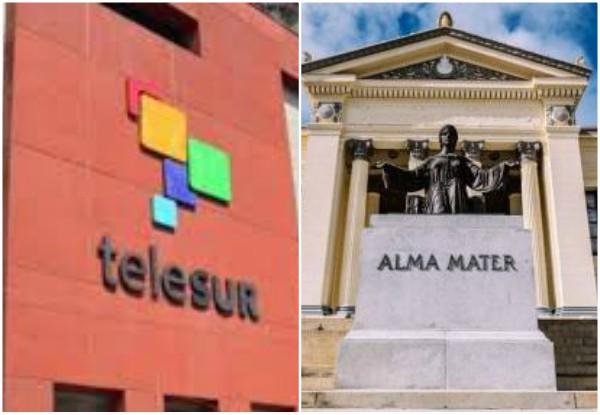 Suscriben acuerdo de cooperación la Universidad de La Habana y TeleSUR