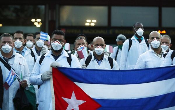 En San Francisco, EE.UU., piden colaboración médica cubana contra la Covid-19