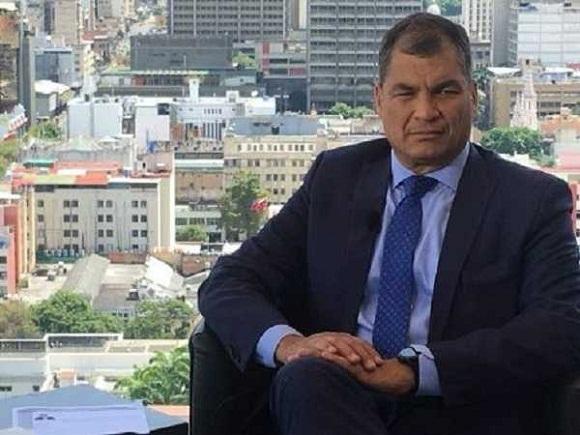 Ratifican prisión contra Rafael Correa a pesar de falta de pruebas