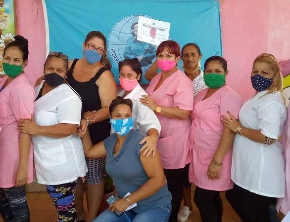 FMC reconoce papel de las trabajadoras de Círculos Infantiles en tiempos de pandemia