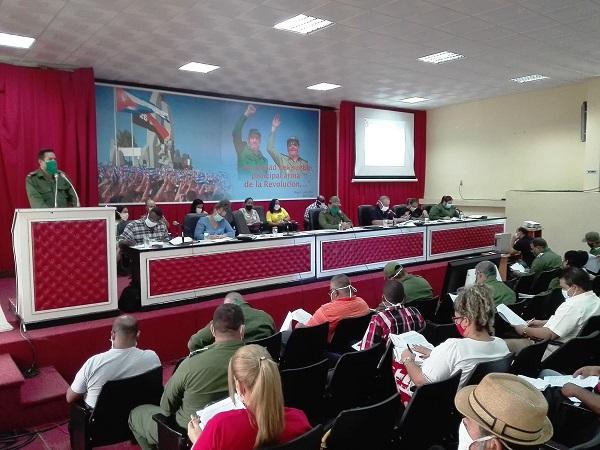 Comité Provincial del PCC en Camagüey analiza acciones de enfrentamiento a la pandemia