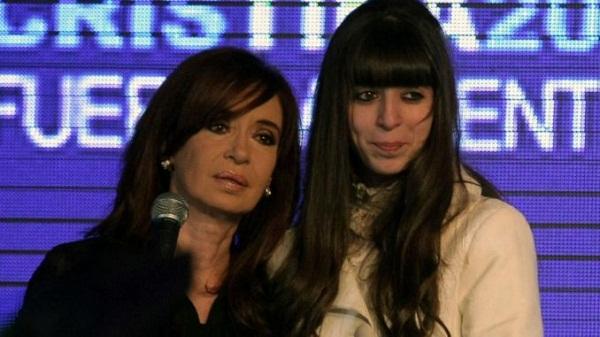 Viaja hoy a Cuba Cristina Fernández para visitar a su hija hospitalizada