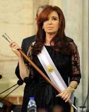 Asume Cristina Fernández segundo mandato de Argentina