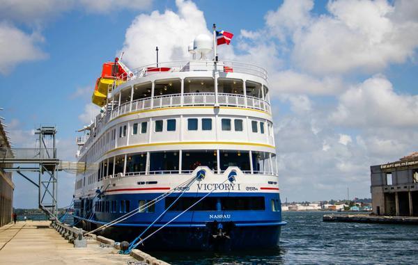 En la capital cubana crucero estadounidense Victory I