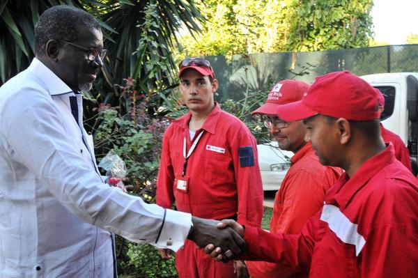 Cruz Roja Internacional destaca labor de Cuba frente a situaciones de desastres