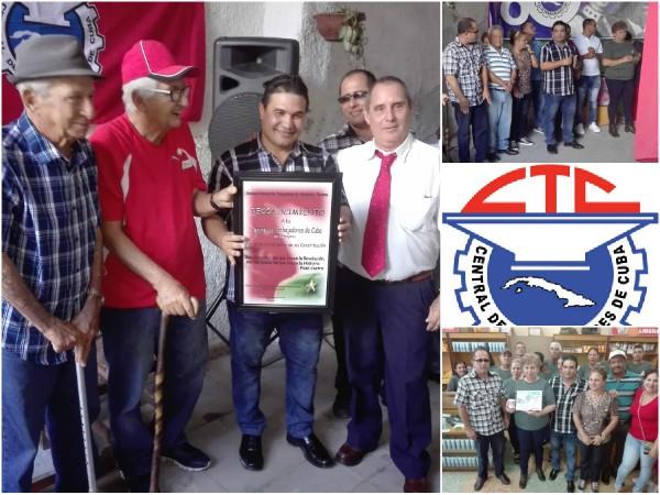 Celebran en Camagüey aniversario 81 de la Central de Trabajadores de Cuba