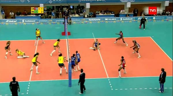 Brasil derrota a Cuba en Mundial femenino de Voleibol sub 20