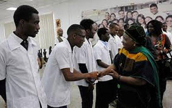 Refuerzan Cuba y el Congo cooperación para formar personal médico