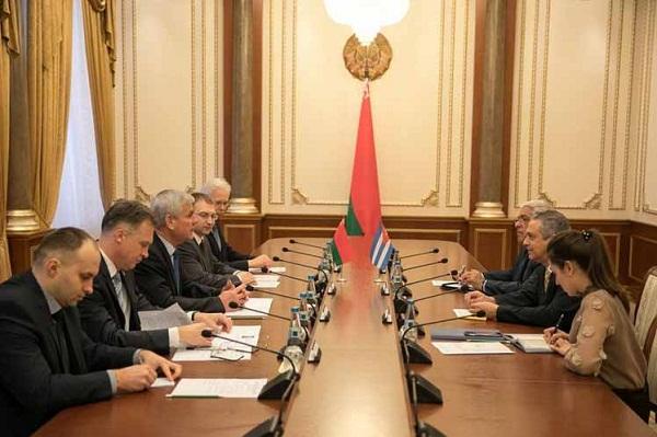 Cuba y Belarús ratifican interés de colaboración en esferas económicas, científicas y tecnologías