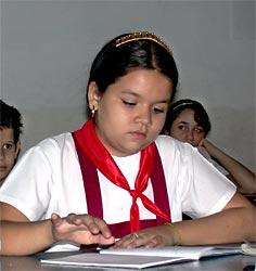 En Cuba, y en Camagüey, los niños son conquistadores del futuro