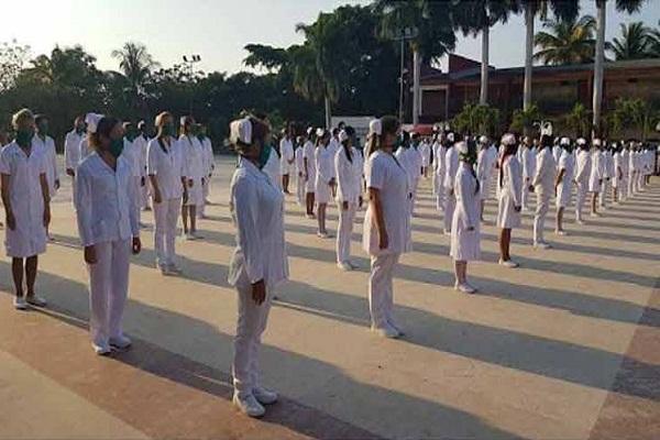 Brigada cubana de Enfermería apoyará en Barbados enfrentamiento a la pandemia