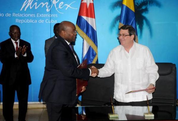 Cuba y Gabón interesadas en establecer negocios