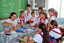 Siete mil nuevos maestros cubanos para próximo curso escolar