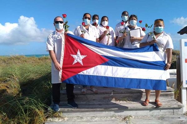 En Islas Turcas y Caicos otra muestra de solidaridad de Cuba (+Fotos)