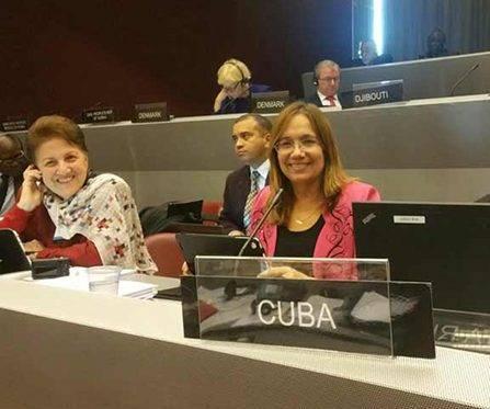 Diputadas cubanas asisten a foro internacional sobre parlamentarismo