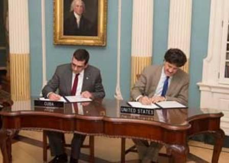 Cuba y EE.UU. impulsan acuerdo sobre protección ambiental