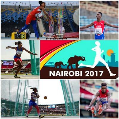 Logra Cuba histórica actuación en Mundial de Atletismo para cadetes