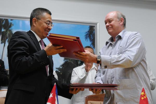 Cuba y China firman acuerdos de cooperación