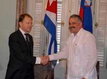 Firman Cuba y Eslovenia memorando de colaboración.