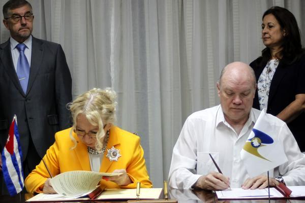 Rubrican Cuba y Comisión Económica Euroasiática un Memorando de Entendimiento