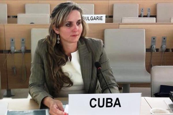 Cuba aboga en Ginebra por derecho a la defensa y seguridad nacional