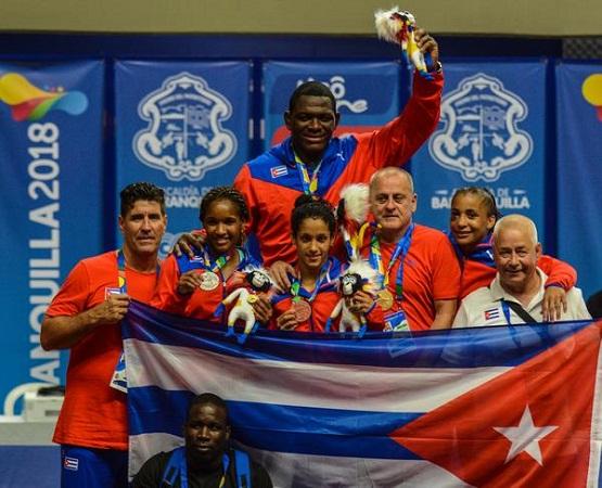Cuba manda en Lucha Grecorromana de Barranquilla