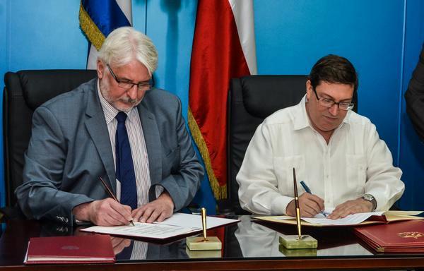 Cuba y Polonia fortalecerán vínculos políticos, económicos y culturales