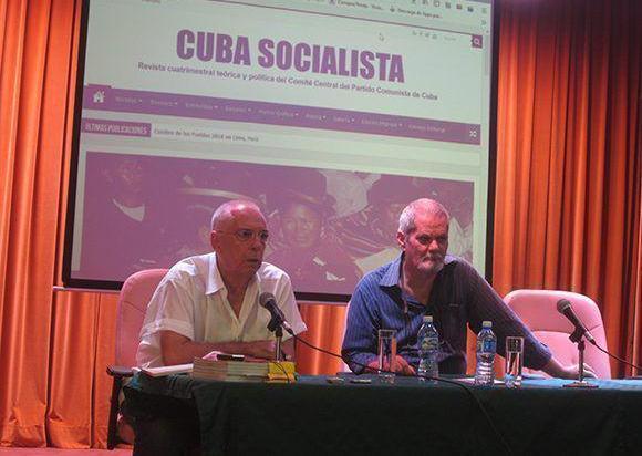 Presentan sitio web de la revista Cuba Socialista