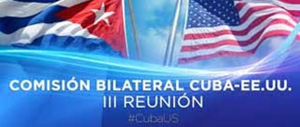 En La Habana, tercera sesión de la Comisión Cuba-Estados Unidos