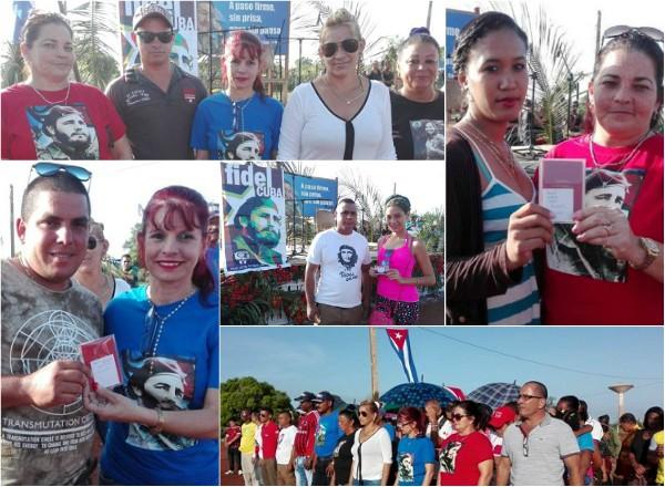 Celebran camagüeyanos de Sierra de Cubitas el Día de la Rebeldía Nacional