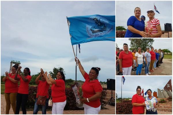 Celebran aniversario 59 de la Federación de Mujeres Cubanas en municipio camagüeyano destacado