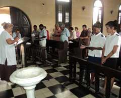 culto de intercesión por la familia cubana y por Los Cinco