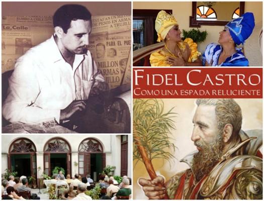 La Cultura camagüeyana también rinde tributo a Fidel