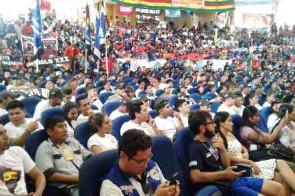 Abogan jóvenes bolivianos por un nuevo esquema mundial de poder