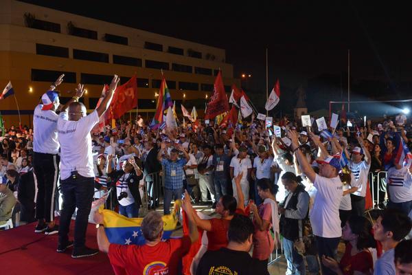 Cumbre de los Pueblos cierra con acto de solidaridad continental
