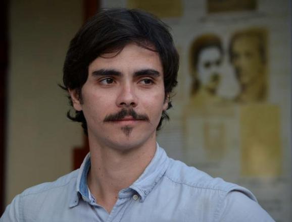 Daniel tiene 27 años de edad, los mismos que Agramonte cuando se fue a la manigua a pelear por Cuba.